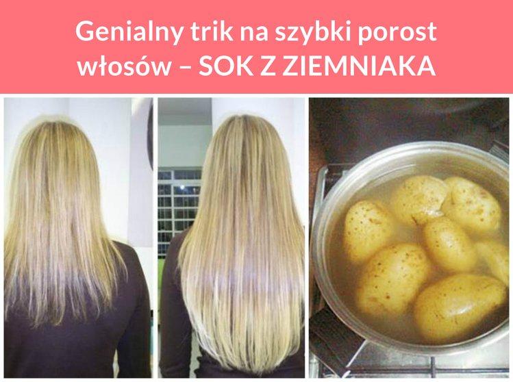 naturalny sposób na szybki porost włosów