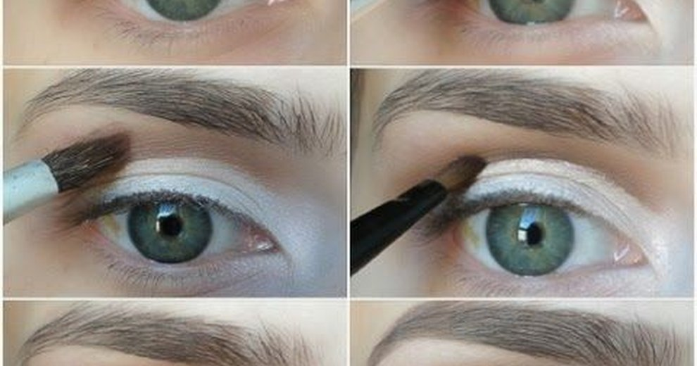 Simple makeup for hooded eyes