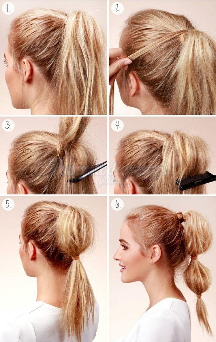 Причёски на короткие волосы сделай себе сам