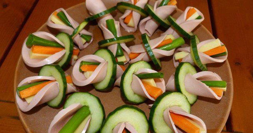 Детские рецепты салатов и закусок с