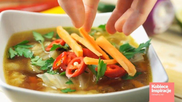 Chinska Zupa Z Kapusty Prosta I Szybka