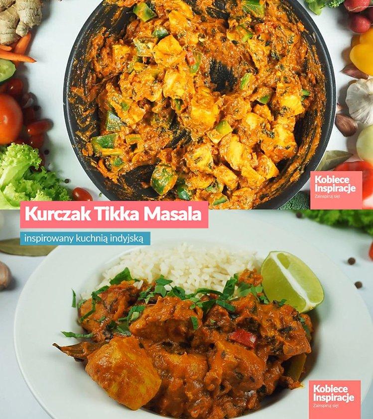 Kurczak Tikka Masala Inspirowany Kuchnia Indyjska Kobieceinspiracje Pl