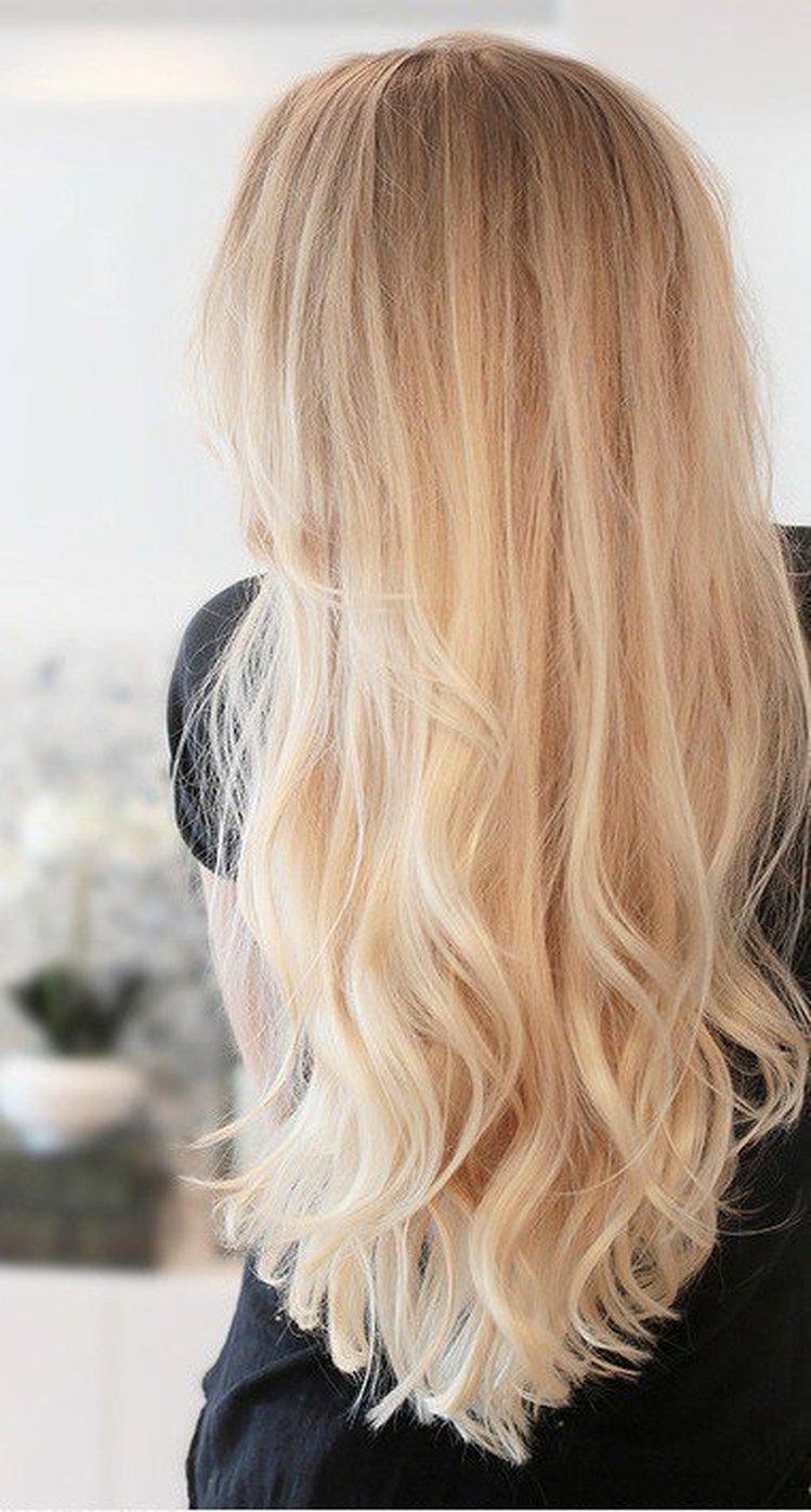 Piękne długie blond włosy Kobieceinspiracje.pl Uberhaxornova Tumblr Long Hair