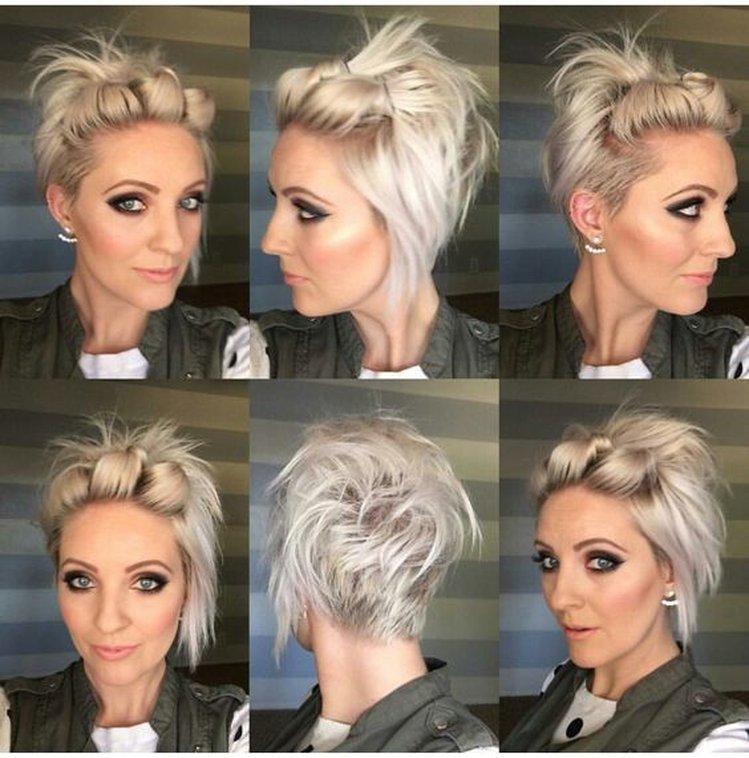 Fryzura Dla Nosicielek Krótkich Włosów Kobieceinspiracjepl