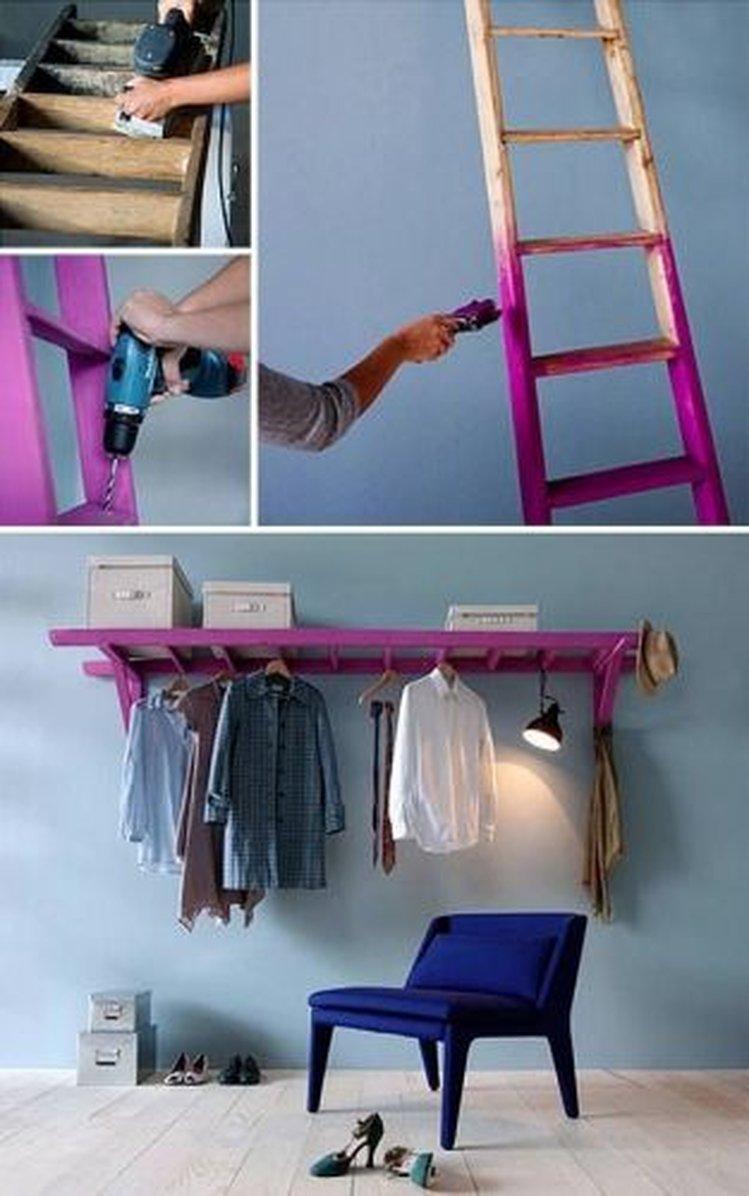 Как сделать вешалку шкаф своими руками